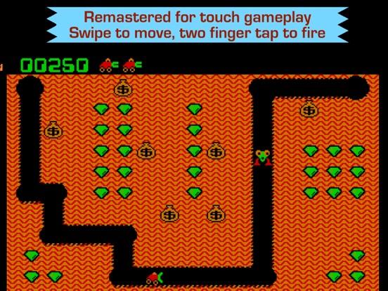 Digger - Classic retro arcade game на iPad