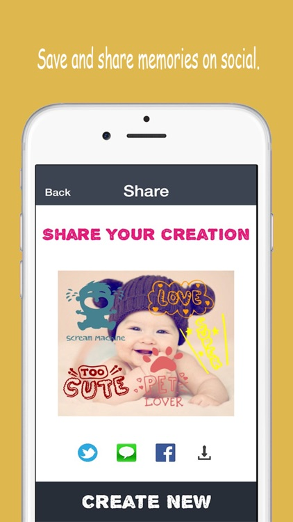 Baby Memories - Pregnancy & Baby milestone photos screenshot-4