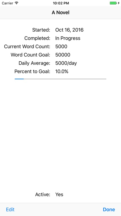 Novel Word Count