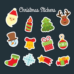 Jolly Christmas Sticker
