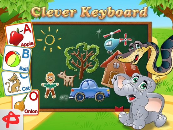 Clever Keyboard: ABC Learning Game For Kids screenshot 2