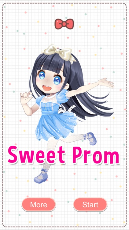 Sweet Prom Girl - Cartoon Dress Up Makeover Game