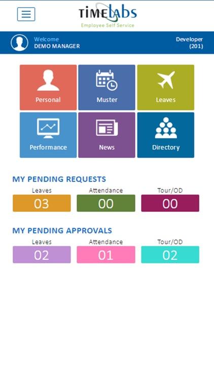 Timelabs Employee Self Service screenshot-3