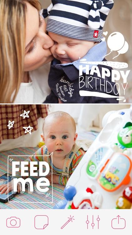 Pregnancy & Baby Milestone Photos