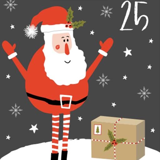 How Many Days Left For Christmas.Advent Calendar By Zardoz Creative Studio