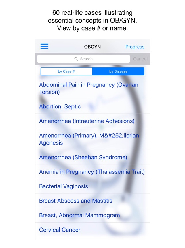 Case Files Obstetrics & Gynecology, 5th Ed. im App Store