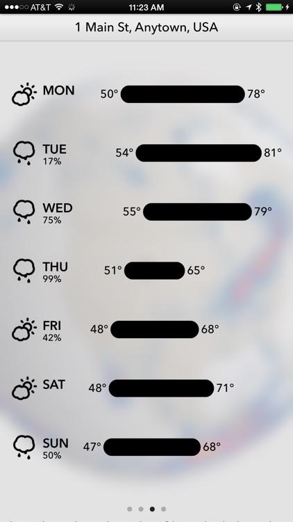 Dark Sky Weather app image