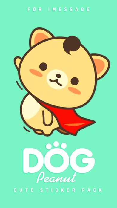 Peanut Dog Sticker Pro - Christmas New Year Emoji