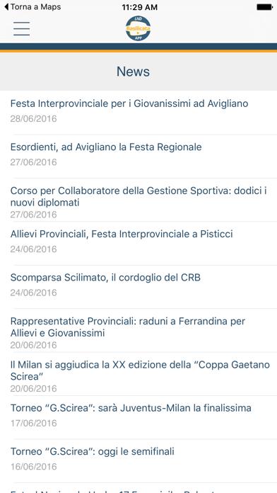 LND Basilicata screenshot one