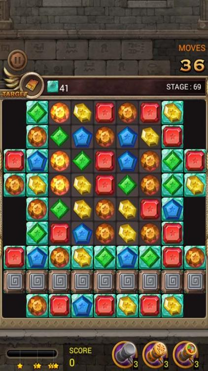 Jewels Temple Quest : Match 3 screenshot-4
