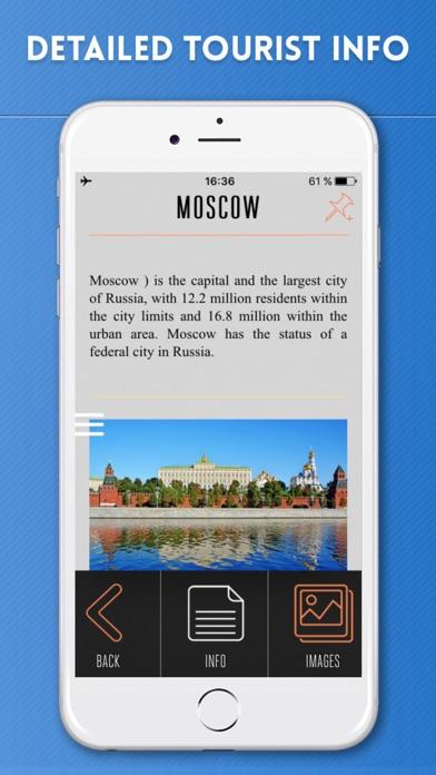 Russia Travel Guide and Offline Street Map screenshot three