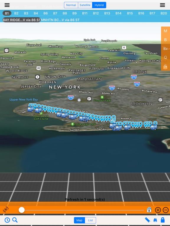 Bus NYC 3D with NOAA Radar Free | App Price Drops