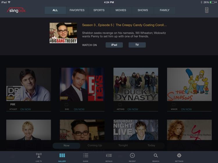 SlingPlayer for iPad screenshot-4