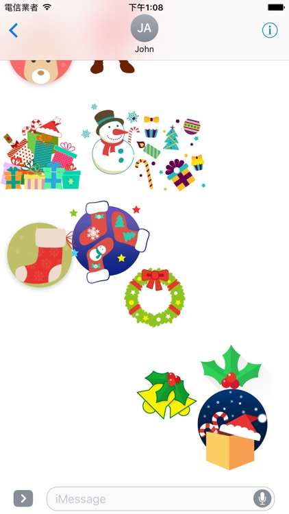Christmas Joys - Lovely Xmas stickers screenshot-3