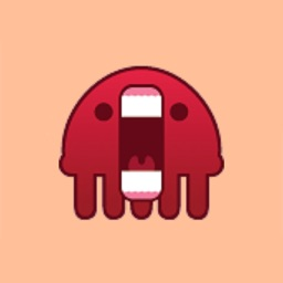 Red Jelly Sticker Pack for iMessage