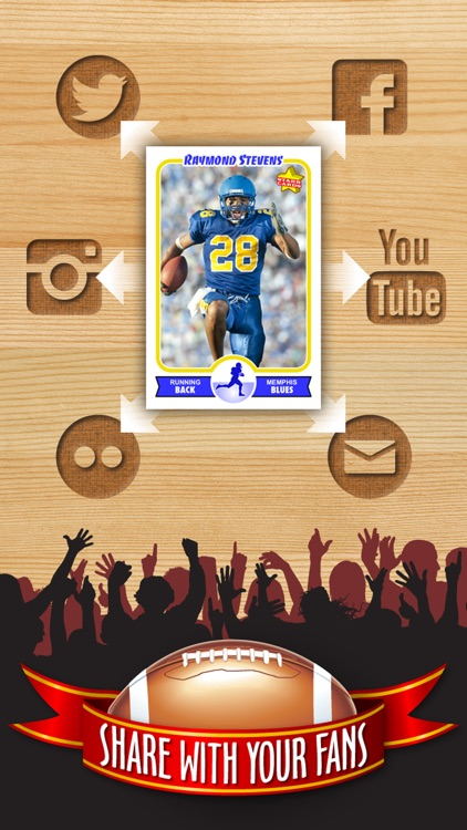 Football Card Maker - Make Your Own Starr Cards screenshot-3