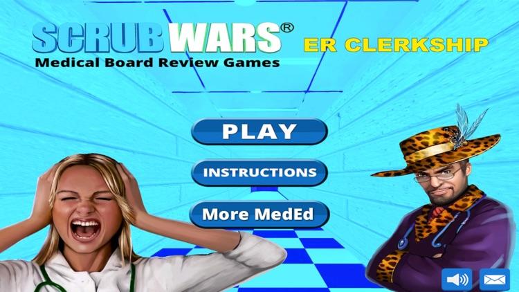 ER Rotation Review Game for the USMLE Step 2 CK, COMLEX Level 2 CE, & PANCE LITE (SCRUB WARS) screenshot-4