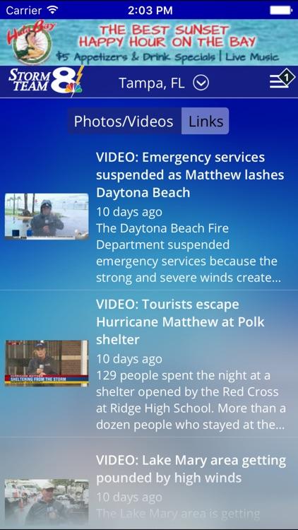 Storm Team 8 - WFLA - Weather Max - Tampa screenshot-3