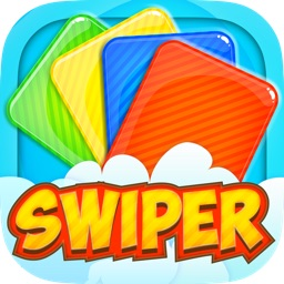 Swiper - the original free challenging fast reflex card swipe game