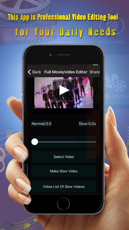 Full Movie And video Editor Pro screenshot-3
