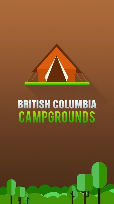 British Columbia Camping Guide Screenshot