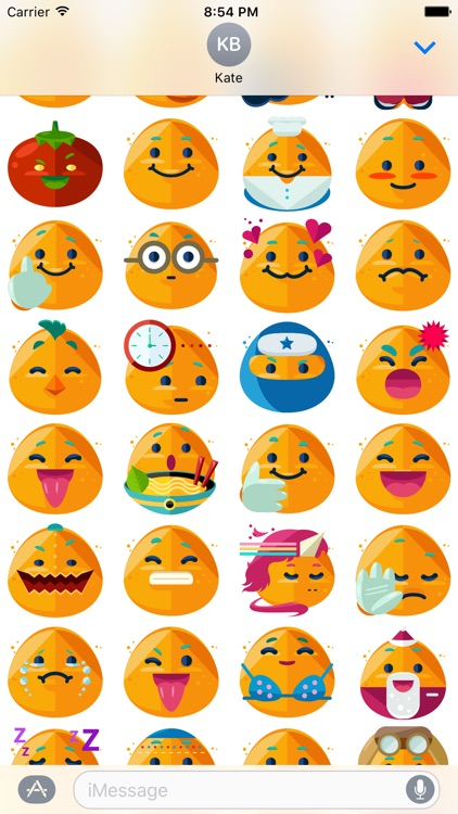 Potato Boy Emoji Stickers for Messages screenshot-4