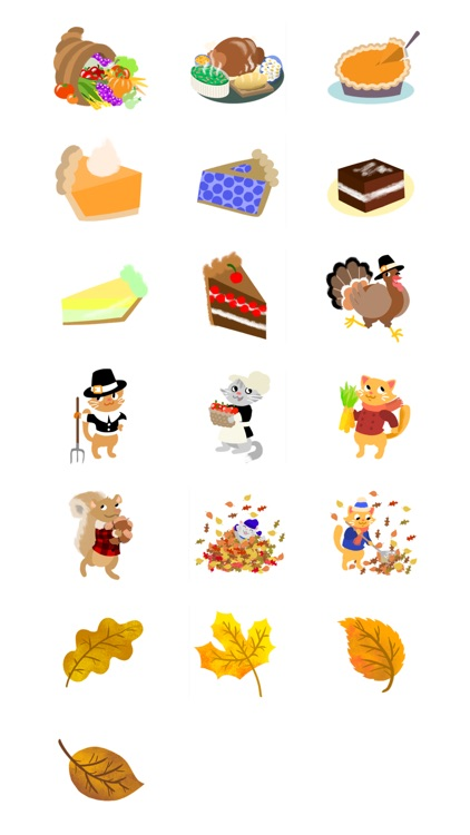 Thanksgiving Stickers- Turkey Time! screenshot-3