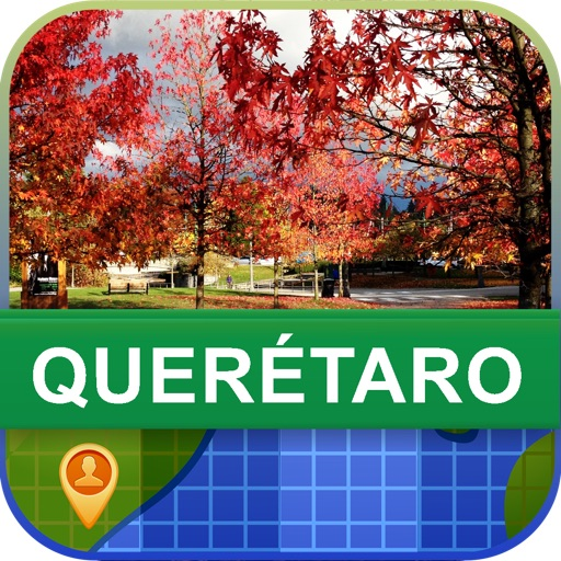 Offline Queretaro, Mexico Map - World Offline Maps