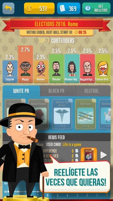 Simulador de las eleccionesCaptura de pantalla de3