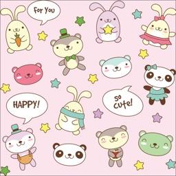 Cartoon Animal Sticker