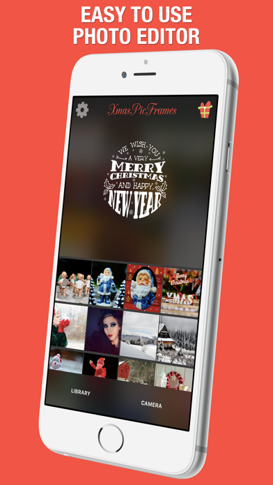 XmasPicFrames – Christmas & New Year Photo Frames screenshot one