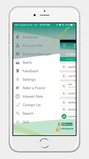 IDBI Bank mPassbook on the App Store