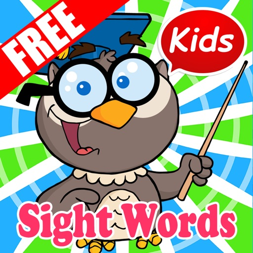 Preschool Kindergarten Sight Word Flashcards Games by pimporn