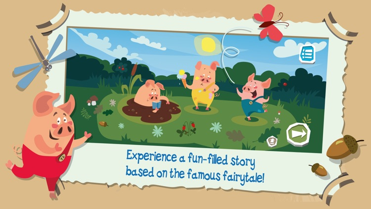 The Adventures of the Three Little Pigs screenshot-0