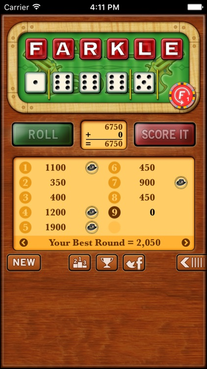 Farkle Solo - Free screenshot-2