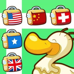 Learn Flag Train ( Chinese-English bilingual education, The Yellow Duck Early Learning Series)