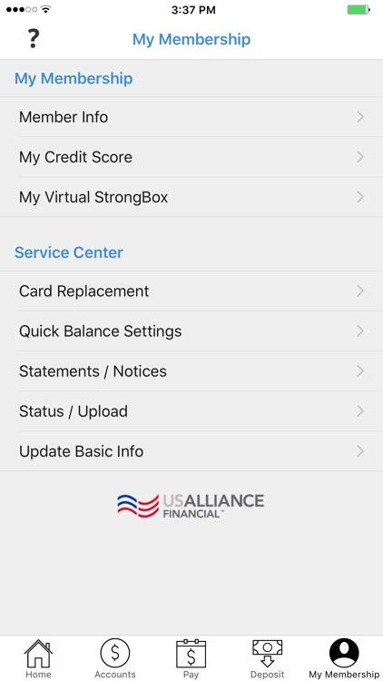 USALLIANCE FCU screenshot-4