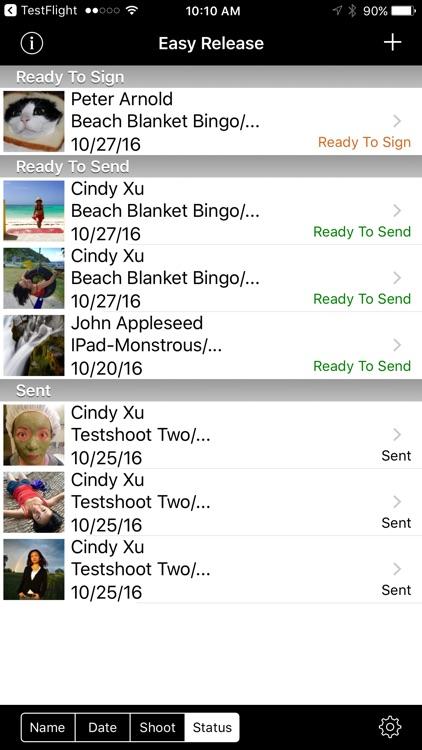 Easy Release - Model Release App