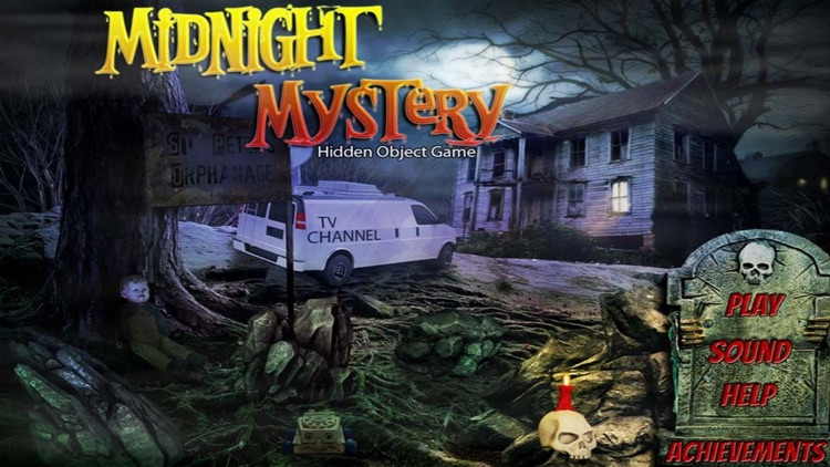 Midnight Mystery Hidden Object screenshot-3