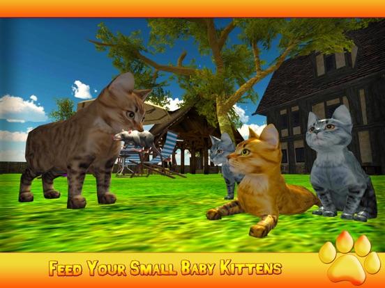 Котенок Cat 3D симулятор - игры Best Cat Mouse на iPad