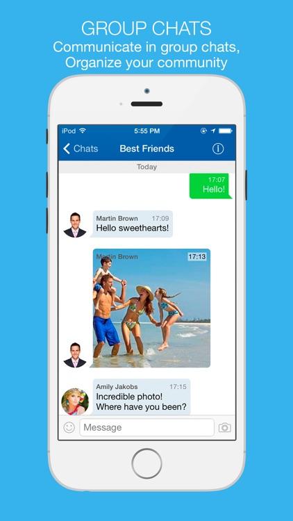 Lite Messenger screenshot-4