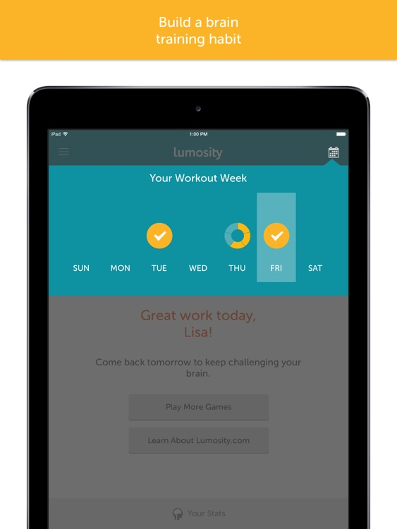 Lumosity — Brain Training screenshot-4