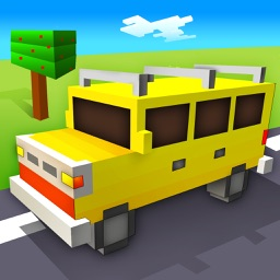 Blocky Road Racing Sim HD : Extreme Driving