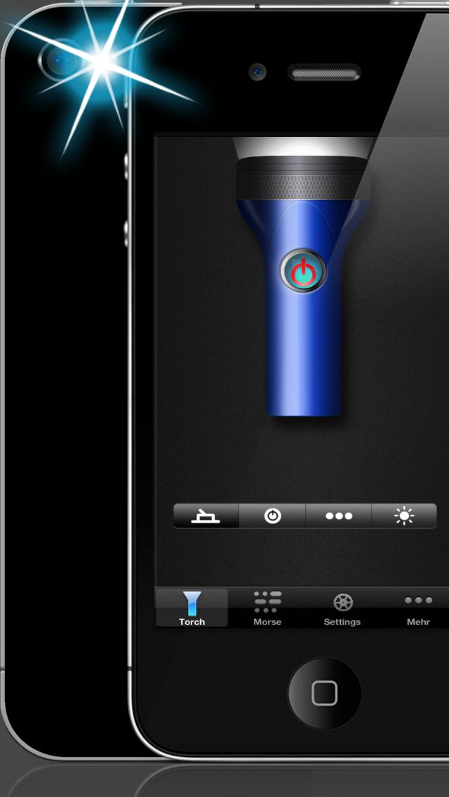 手电筒和莫尔斯实用程序屏幕截图2