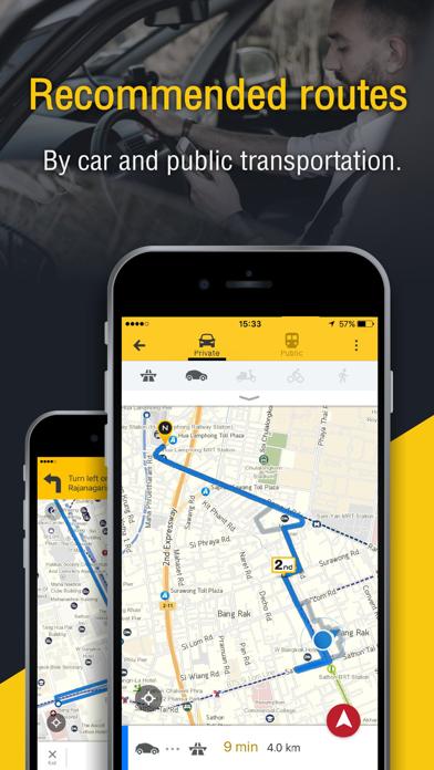 NOSTRA Map - GPS Navigation screenshot three