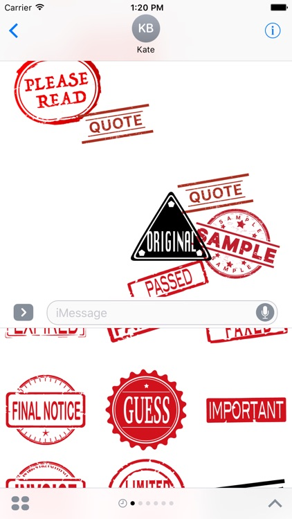 Stamptastic - Inking Stamp and Chop screenshot-3