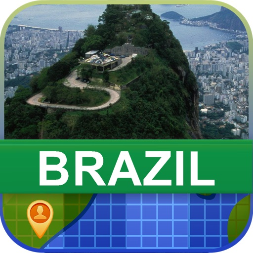 Offline Brazil Map - World Offline Maps icon