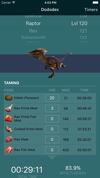 Dododex: ARK Survival Evolved