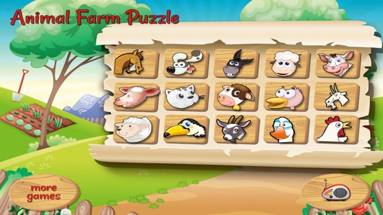 Animal Farm Puzzle for parents, kids (Premium)
