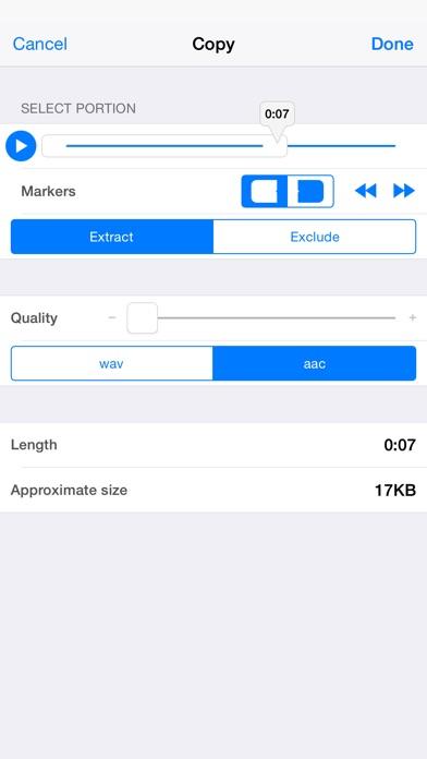 Audio Memos Pro Screenshot 3